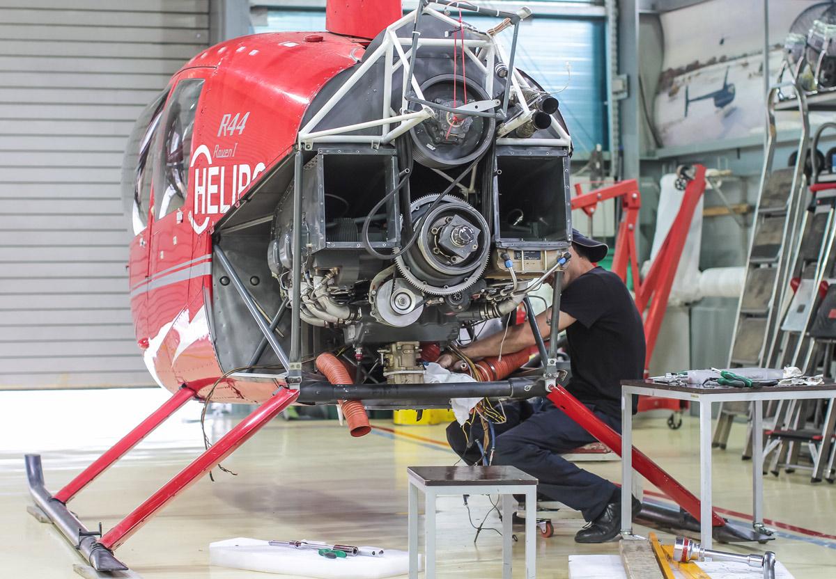 Россия отремонтирует двигатели для вертолетов американской марки Robinson